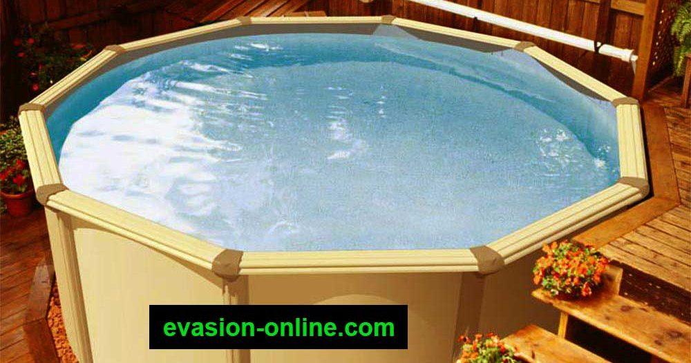piscine hors sol acier m tal ou bois vacances arts guides voyages. Black Bedroom Furniture Sets. Home Design Ideas