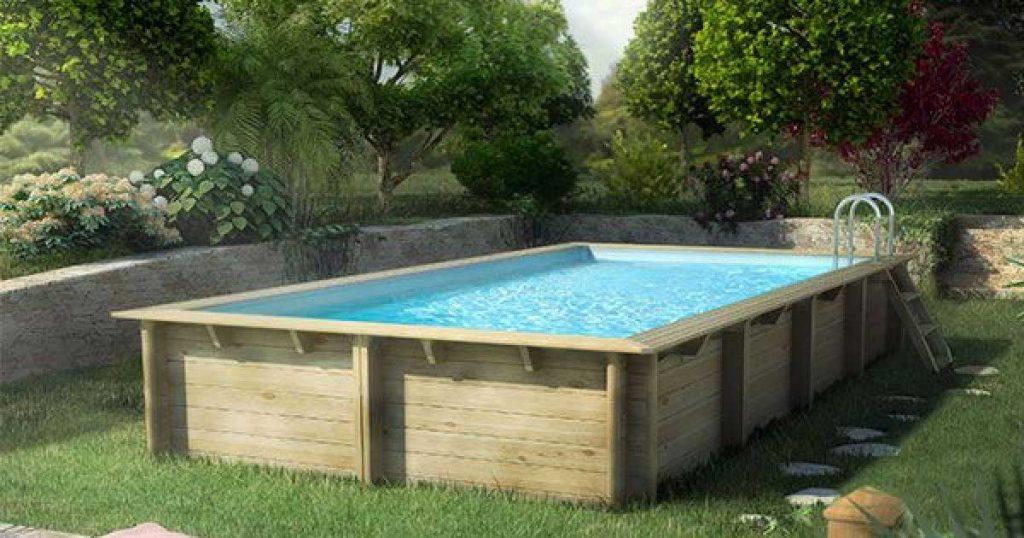 piscine hors sol en bois cerland