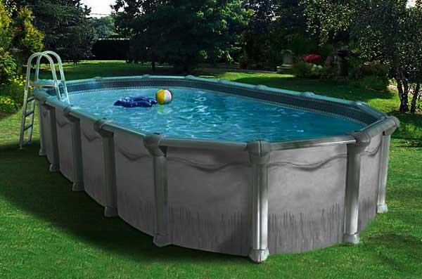 piscine metal hors-sol acier