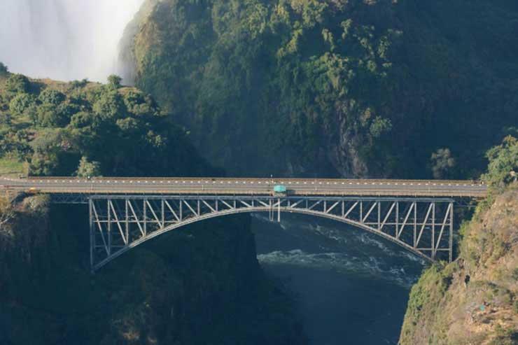 Le Pont des chutes de Victoria