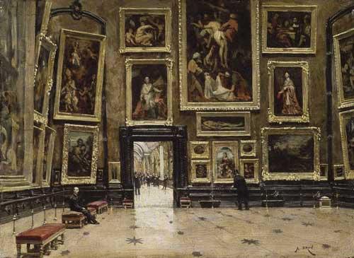 salle du louvre - Paris