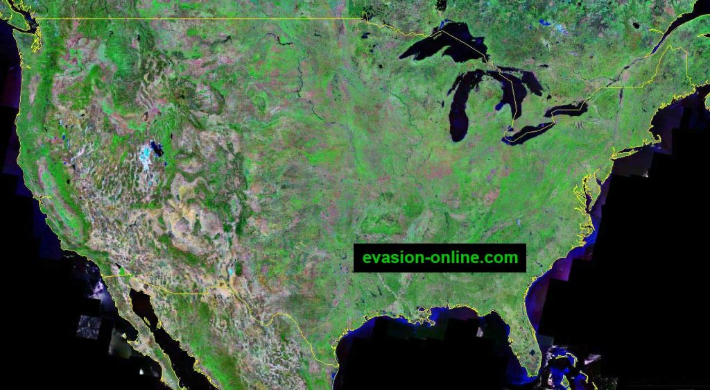 United-states-of-america - Image Satellite