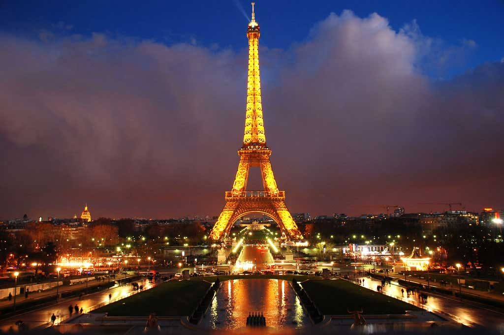 tour-eiffel - Photo de nuit