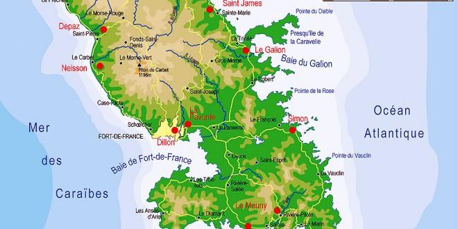 Ile de la Martinique