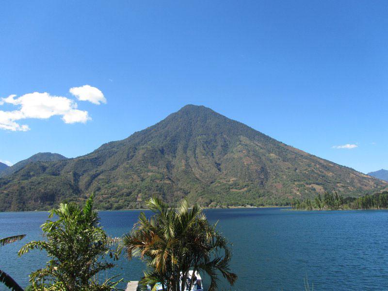 Volcan du lac Atitlan