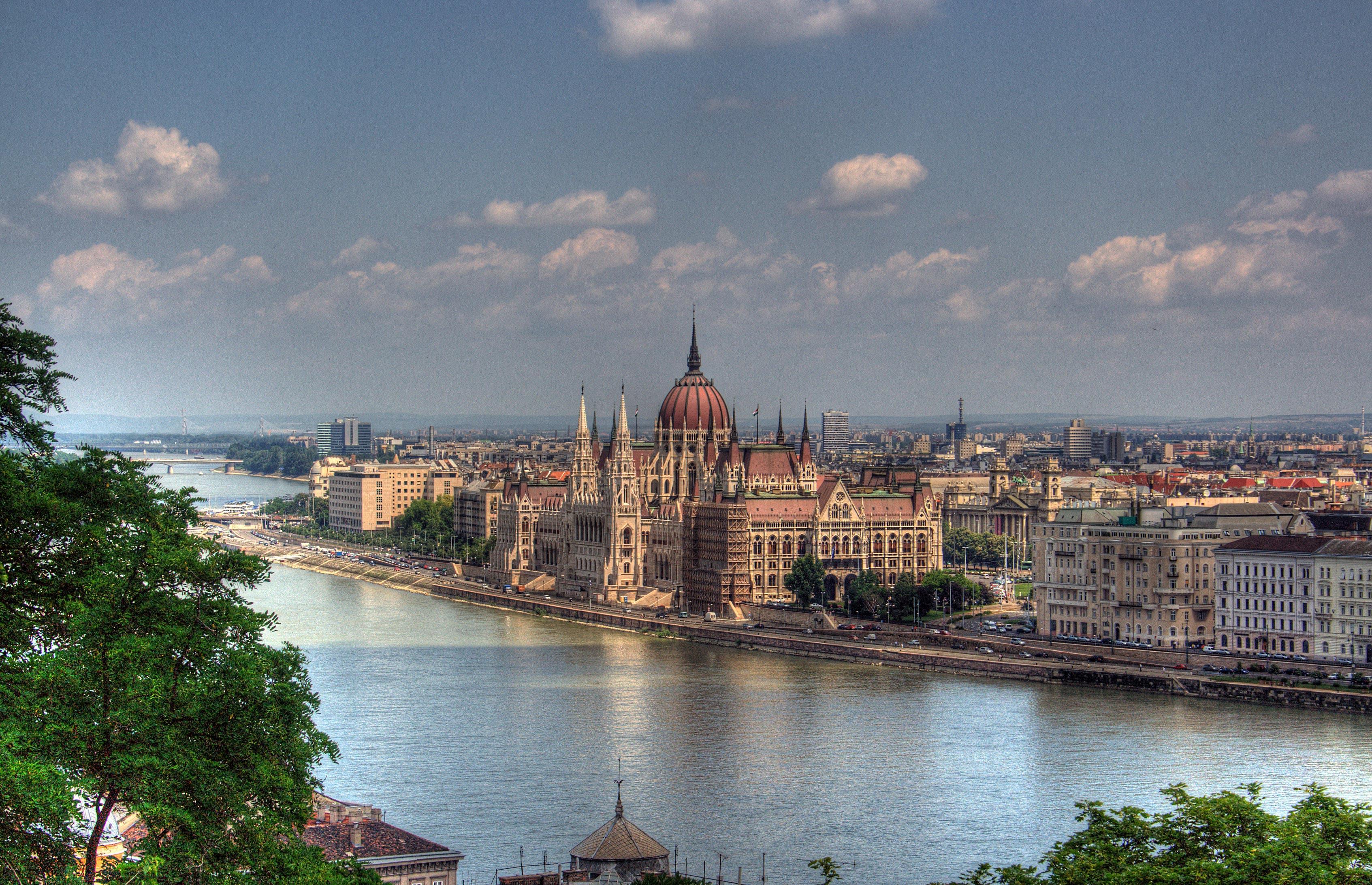 Budapest - photo du Parlement
