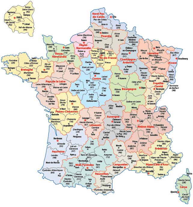 carte-departements-regions