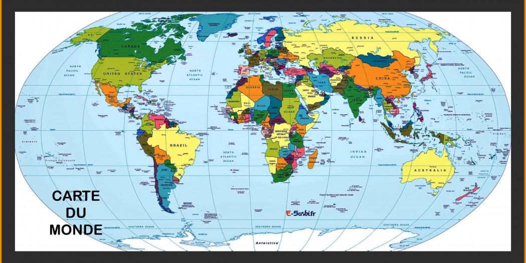 Carte Du Monde Zoomee.Carte Du Monde Plan Des Pays Images Vacances Arts
