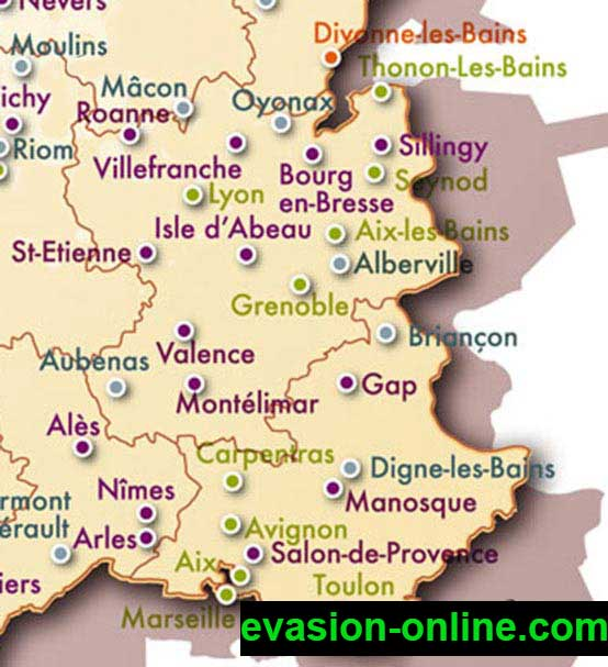 Ville du Sud de la France