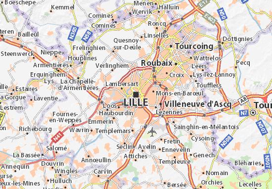carte Lille