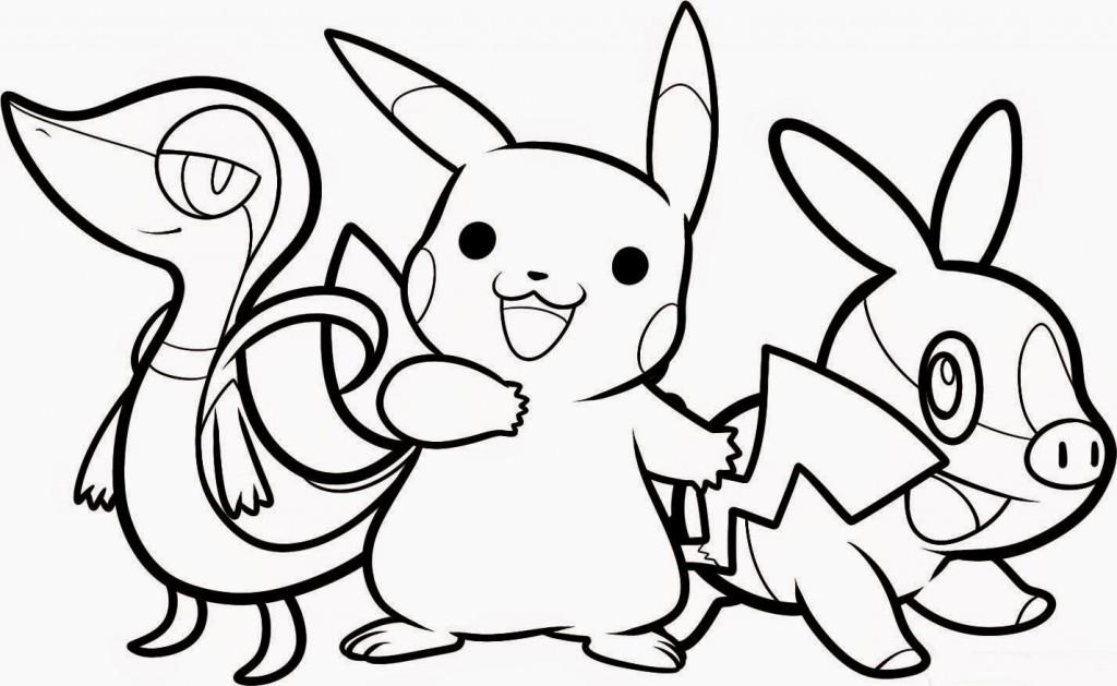Pokemon a colorier - pour garçon