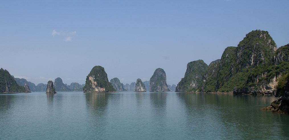 Ile du dragon - paysage du Vietnam