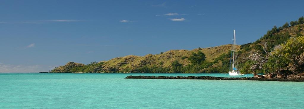 Le lagon de Mangareva, île Gambier