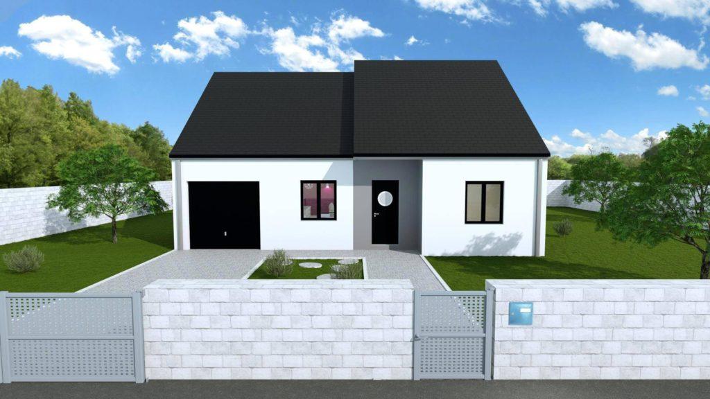 maisons traditionnelle plain-pied