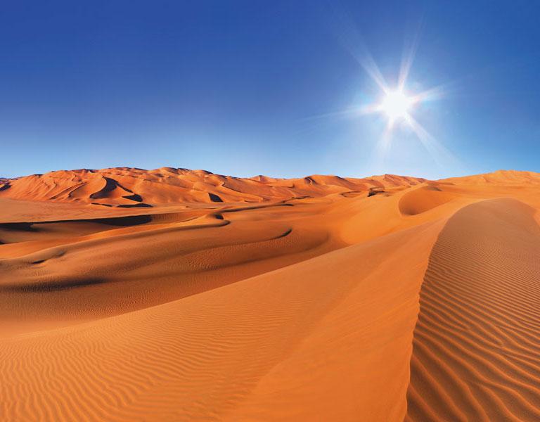 Maroc paysage désert