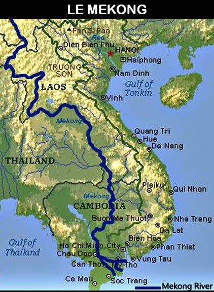 Carte du Mekong - cliquez sur l'image pour agrandir