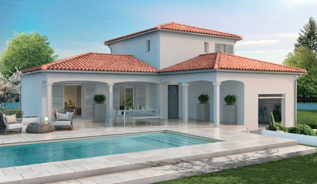 Modèle maison en 3D