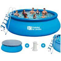piscine gonflable ronde