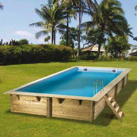 Piscine rectangulaire