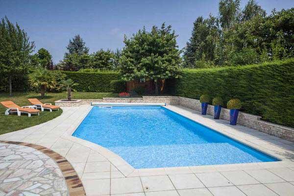 piscines avec courbes