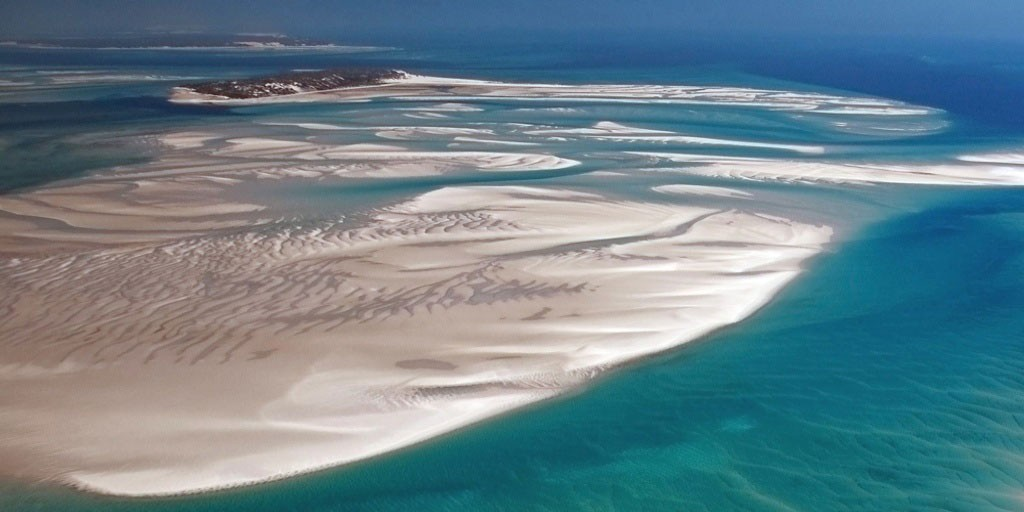 Une plage de Mozambique