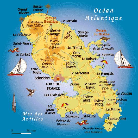 Tourisme gastronomie à la Martinique