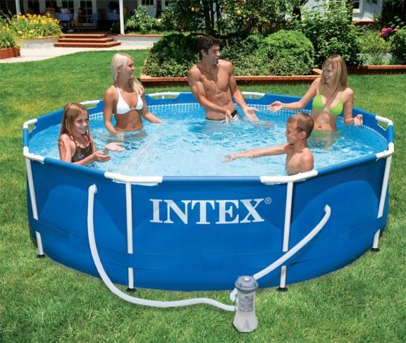 piscine metal frame 3.05 x 0.76 - INTEX