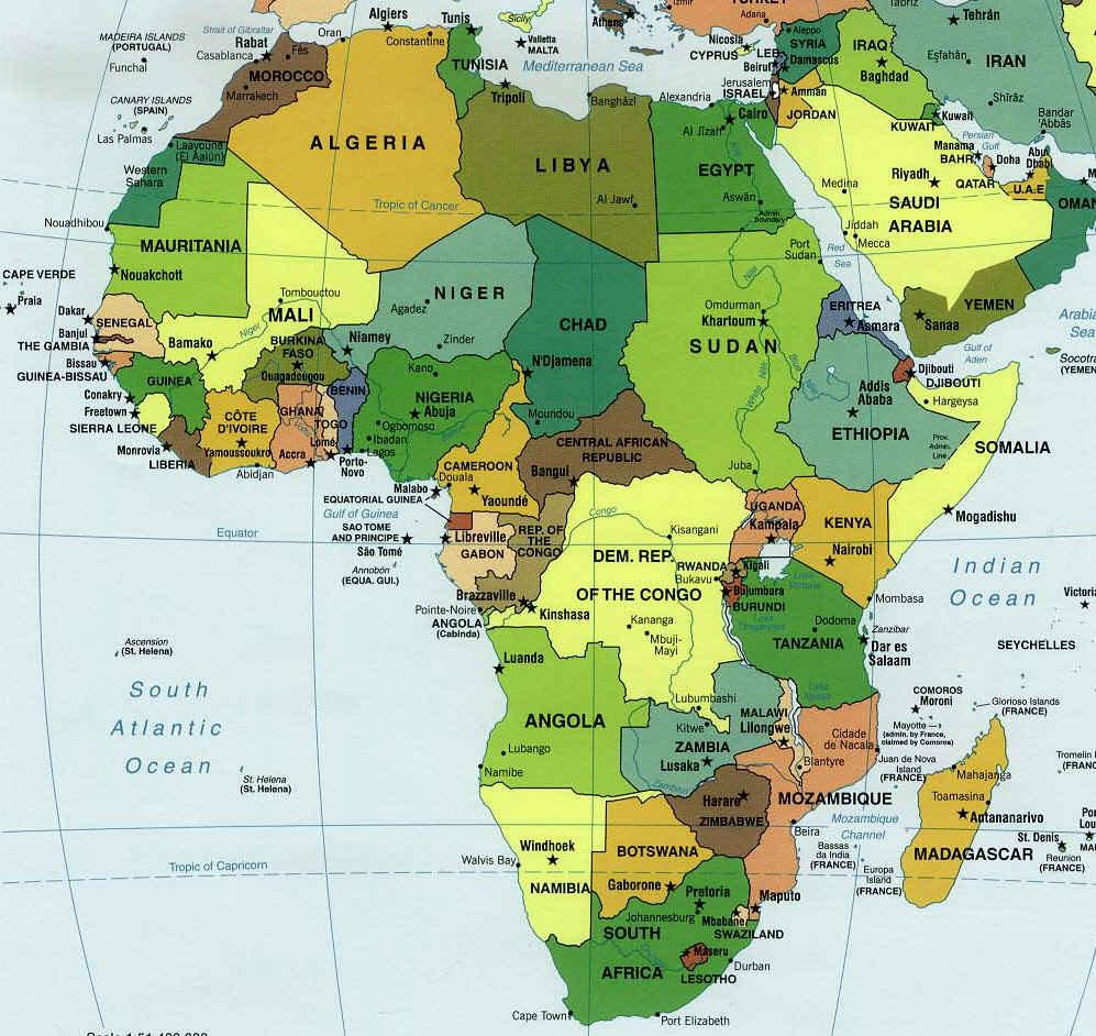 Grande Carte Afrique