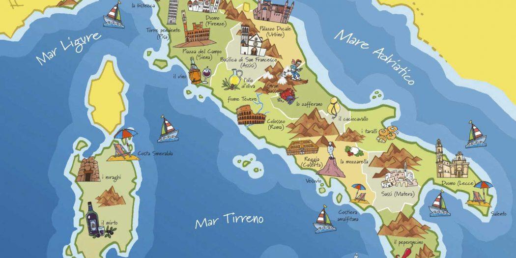 Carte Des Villes Italiennes