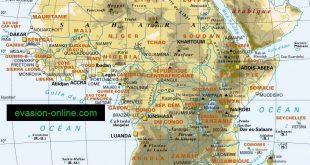 Afrique - Carte détaillée