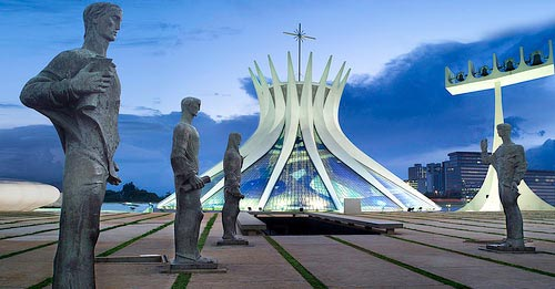 Photo de la Cathédrale de Brasilia