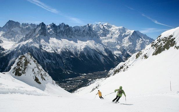 Neige à Chamonix