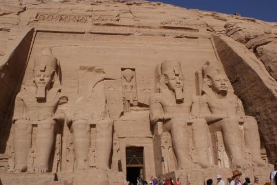 Le temple de Louxor en Egypte