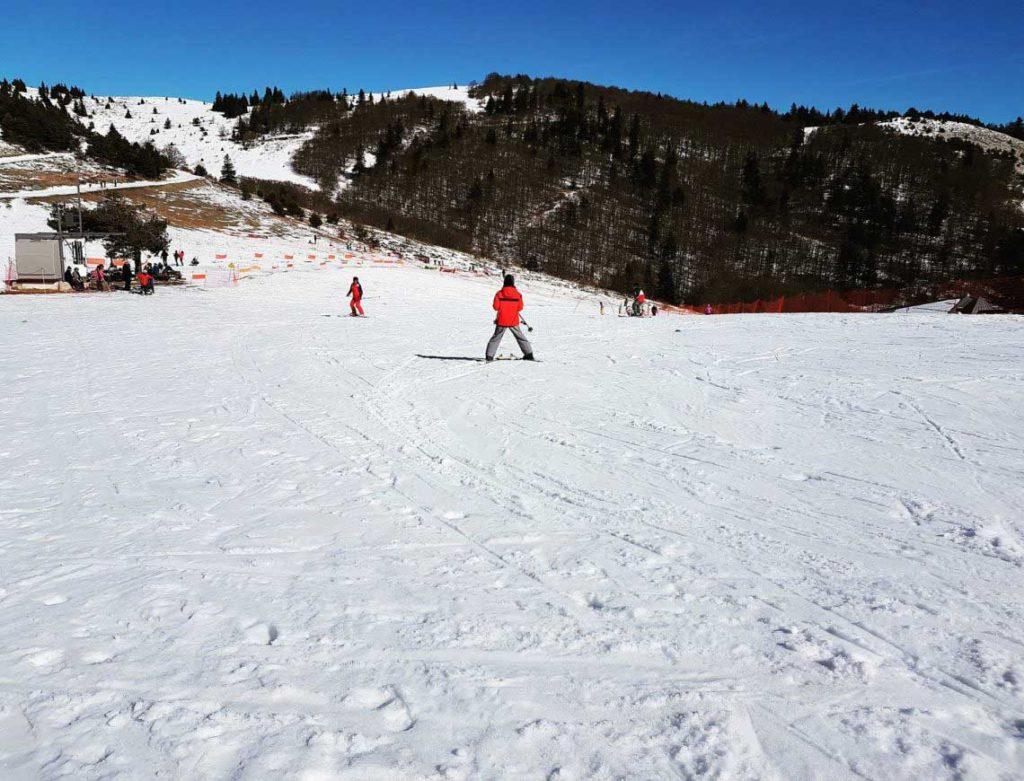 montagne de Lure en hiver