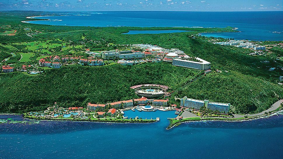 Les côtes de Porto Rico