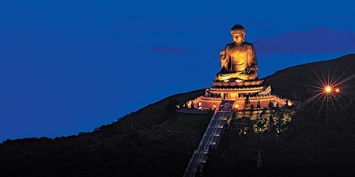 Grand bouddha - hong kong