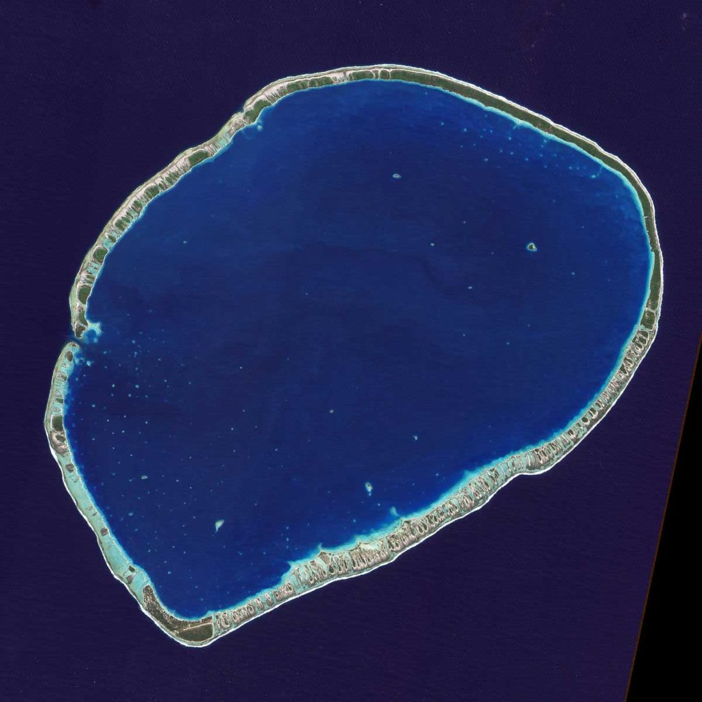 Photo satellite de Tikehau