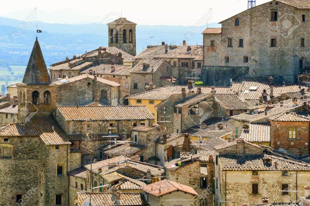 Anghiari Toscane Italie