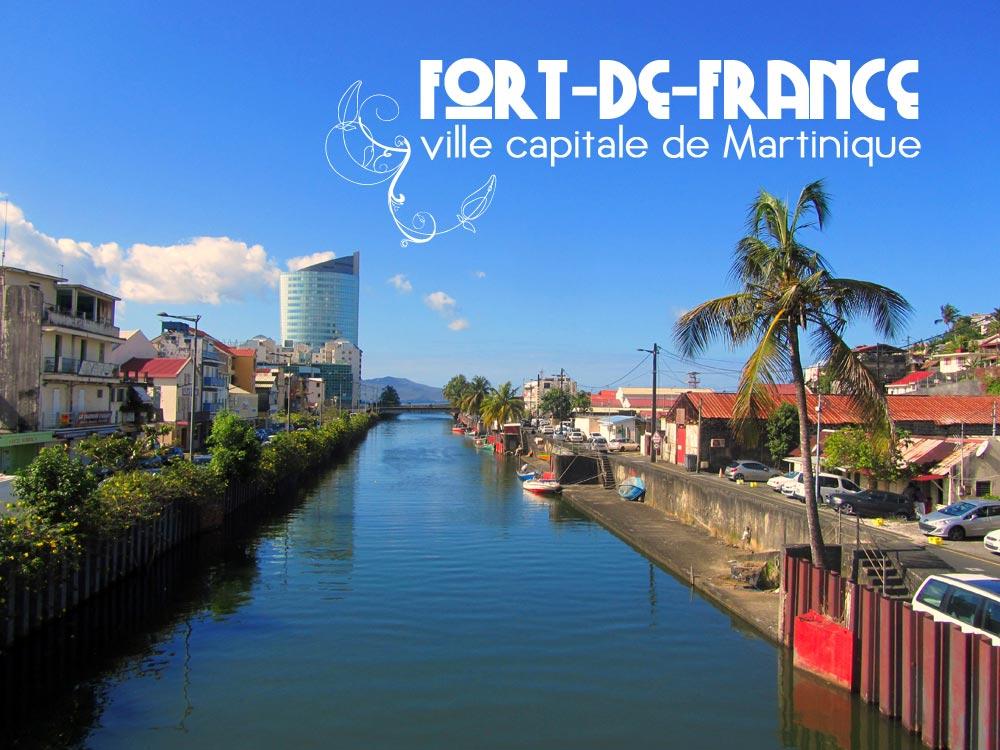 Fort de france capitale de la martinique vacances arts guides voyages - Le port de fort de france ...