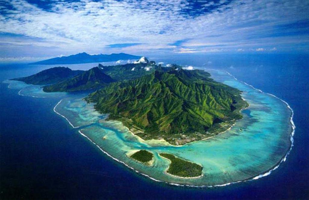 Tahiti vue du ciel