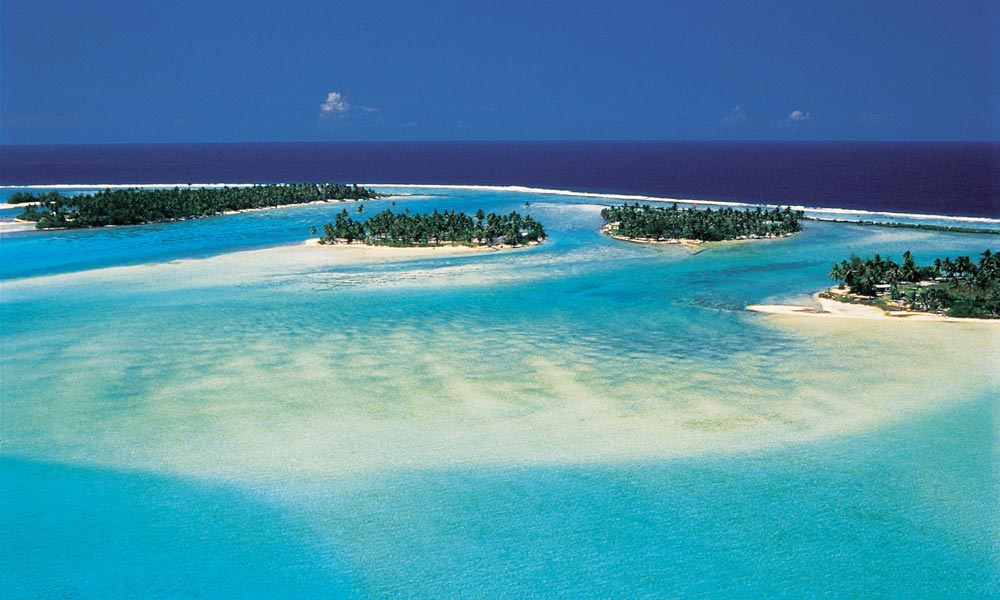 Lagon de Tahaa en Polynésie