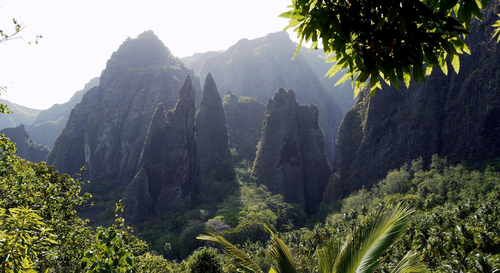 Vallée de HAKAUI - Nuku Hiva