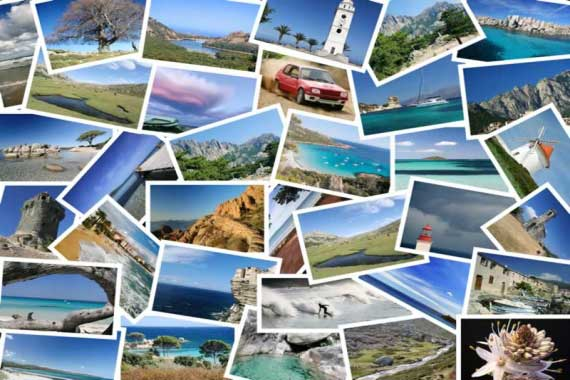Cartes postales de voyages