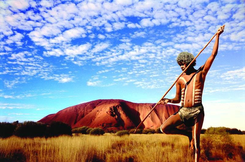Voyage en Australie - Photo d'un aborigène