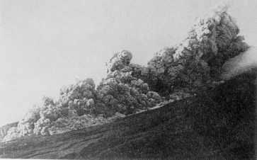Avalanche de Centre du Volcan - Montagne Pelée