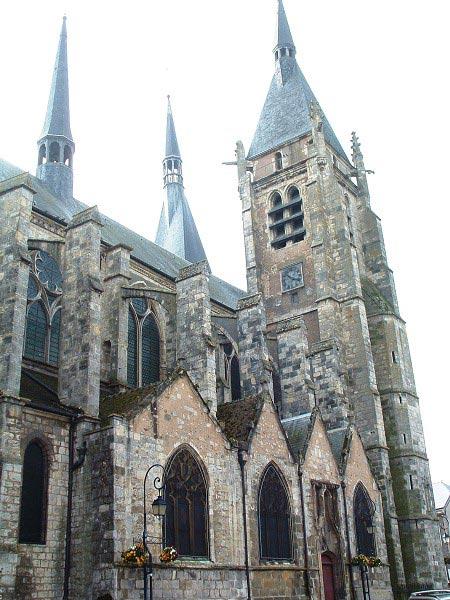Dourdan - Eglise Saint-Germain-l'Auxerrois