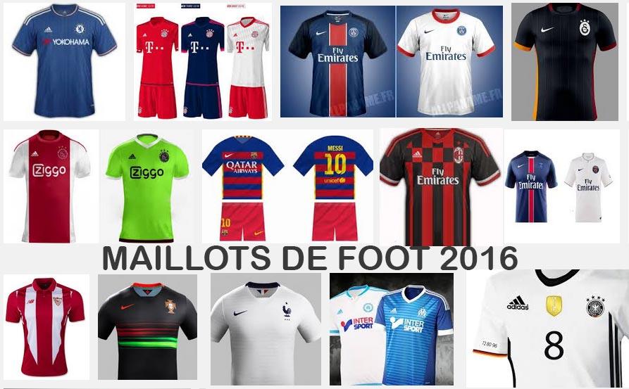 Maillot de foot 2016