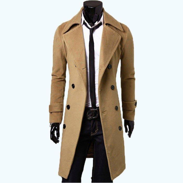 Manteau pour Homme beige