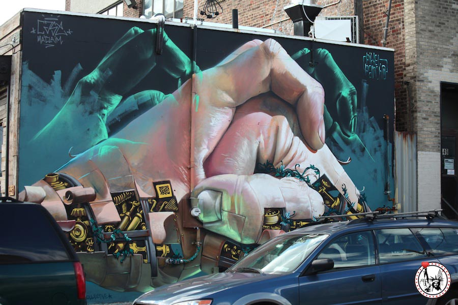 New York - Stree Art - Brooklyn graffiti