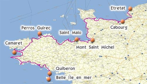 Bretagne-Normandie en Voyage